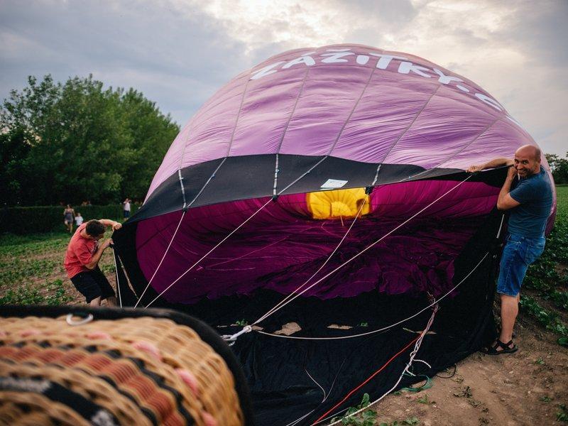 Levně Rodinný let balónem