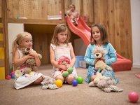Dětská herna v Aparthotelu Svatý Vavřinec