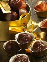 Čokoládové pralinky a čokoládové lanýže