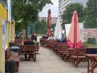 areál Beachklubu Pankrác