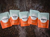 Domácí degustace kávy s pražírnou DOUBLESHOT + 5 druhů špičkové kávy