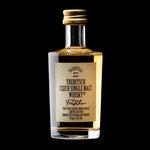 Trebitsch Czech Single Malt Whisky 43% (50ml) - jemně rašelinou nakouřená s chutí vanilky a karamelu