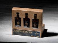 Degustační sada na domácí degustaci whisky Trebitsch.