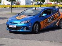 driftovací speciál Opel Astra OPC