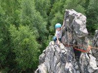Malá horolezkyně (Děčín)