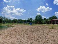 Po celém zážitku si můžete odpočinout na místní pláži (Hradec Králové)