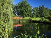 Voda...postrach většiny golfistů:)