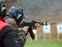 Střelba z Kalašnikova - AK-47