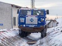 Tatra 813 8X8 jede a nic ji nezastaví.