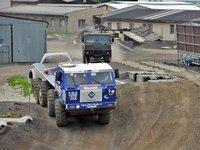 Setkání dvou legend - vojenská a truck-trialová verze vozu Tatra