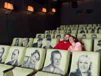 Opravdu jen vy dva sami v kině :)