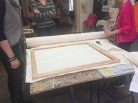 Příprava plátna