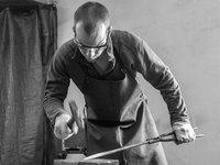 přípravy na výroby čepele nože