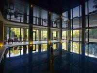 Hotelové spa & wellness s bazénem s protiproudem