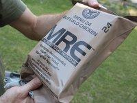 Potravinový balíček americké armády jako poslední záloha :)