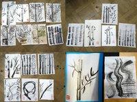 Malování bambusu