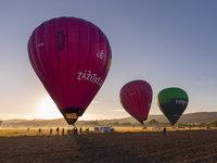 Tři balóny nad Prahou jsou sice rarita, ale když se zadaří, tak je to skvělá podívaná.