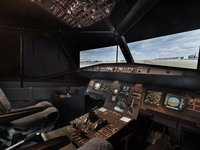 pohled na sedadlo 1. pilota
