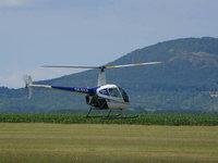 Vrtulník Robinson R22 v plné kráse