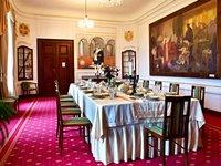 Zednářský salonek na zámku Zbiroh