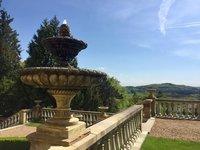Rozlehlé zahrady zámku Zbiroh