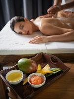 Mangová olejová masáž