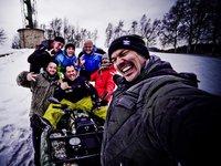 Nadšený team motoskijařů :)