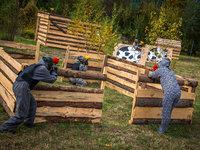 Paintball - venkovní hřiště v Praze - Smíchov