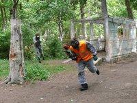 Paintball - vojenský prostor v Benešově