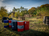 Paintball - hřiště na Praze 5