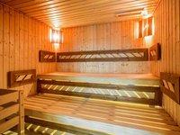 Finská sauna v loveckém zámečku Lužec