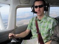 výraz zkušeného pilota