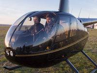 Marek se do pilotování nadchnul. Přestože ještě pár hodin předtím měl strach z létání :)