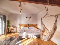 Pokoj typu Deluxe - pivní hotel Zlatá kráva