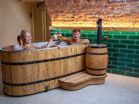 Pivní lázně s neomezenou konzumací piva - pivní hotel Zlatá kráva