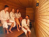 Wellness a sauna s chmelovým aroma - pivní hotel Zlatá kráva