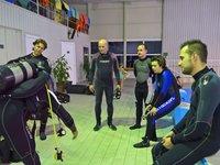 Instruktáž před samotným potápěním