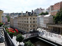 Karlovy Vary a jejich dominanta