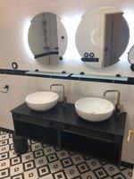 Stylová koupelna v depandance Art Deco Wolker