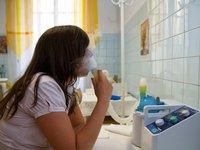 Inhalační léčebná procedura v hotelu Astoria