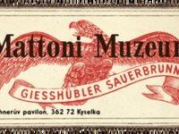 Mattoni je nezaměnitelně spojen s Karlovými Vary a byla by škoda nenavštívit místní muzeum