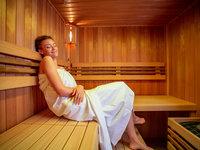 Privátní sauna s vířivkou v butikovém hotelu Mamma's