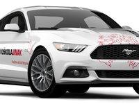 Ford Mustang vás naučí, jak se řídí pořádný auto :)