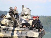 Tank připraven k vyjížďce:)