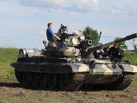 Bojový tank T-55 v plné kráse
