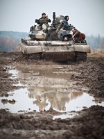 Pro tank není žádný teren výzva