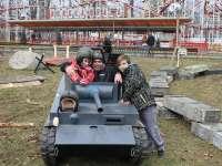 vyfotit se prostě s tankem musíte:)