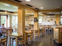 Restaurace šumavského hotelu Kristian