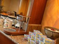 Snídaňový bufet hotelu Maxmilian