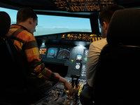 Na začátku vašeho letu budete poučeni jak simulátor funguje